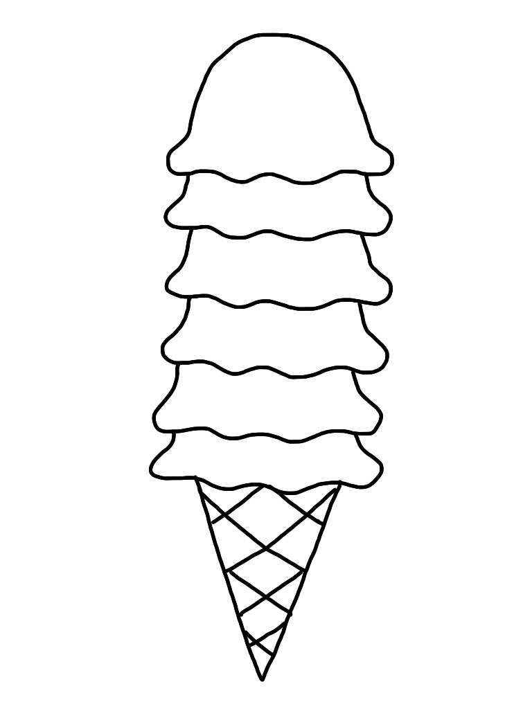 Category mrs jackson 39 s art room for Coloring pages of ice cream